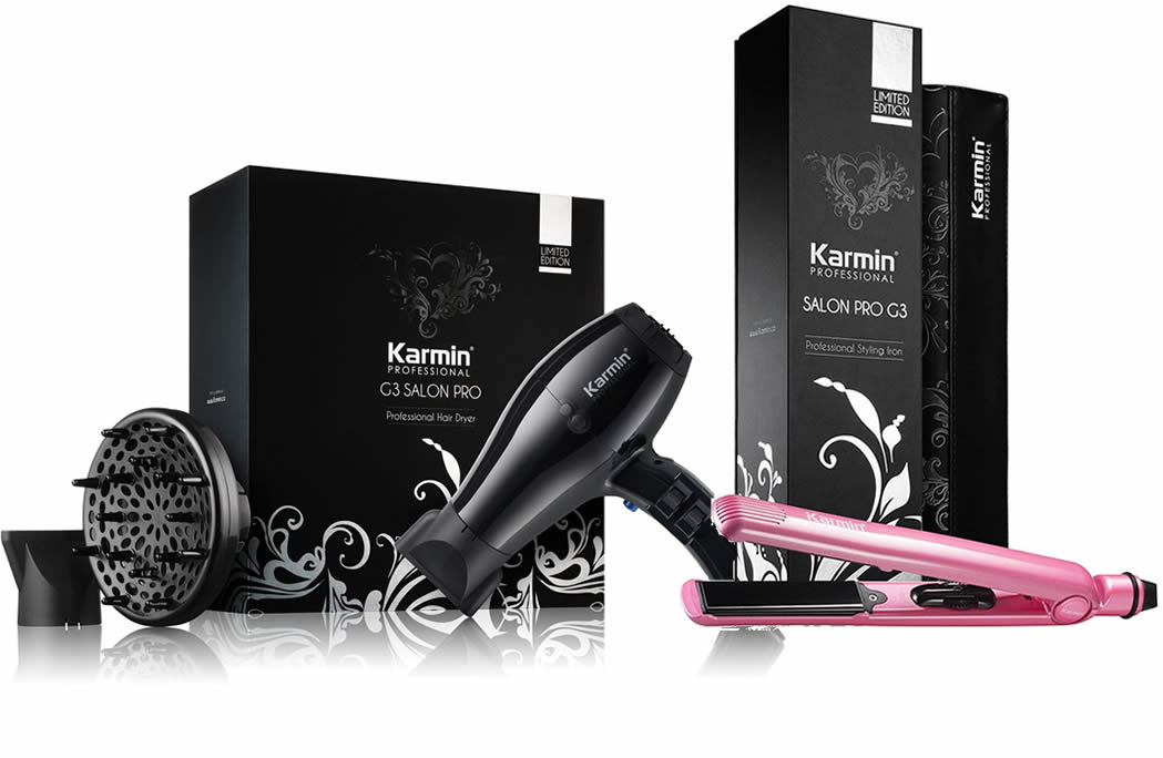 Karmin G3 Salon Pro Hair Dryer and G3 Straightener Combo